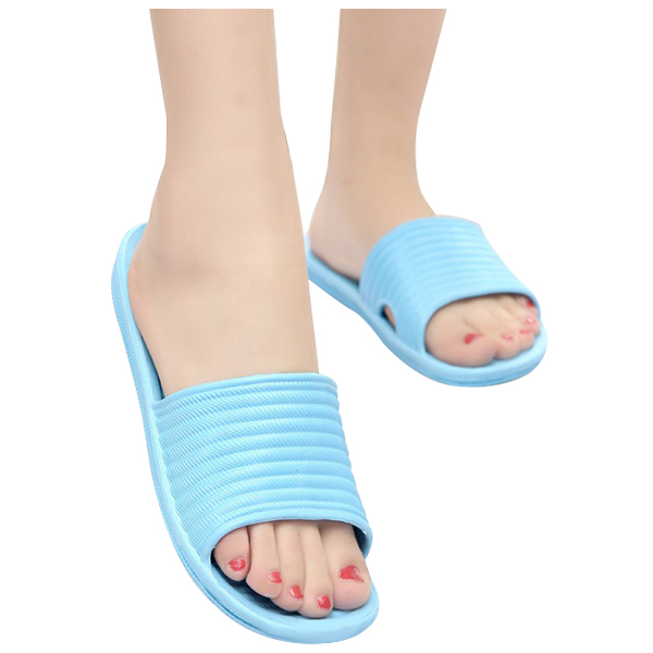 Soft Women Bath Slippers Sandals Bathroom Shoes Flip Flops size:39 blueSoft Women Bath Slippers Sandals Bathroom Shoes Flip Flops size:39 blue