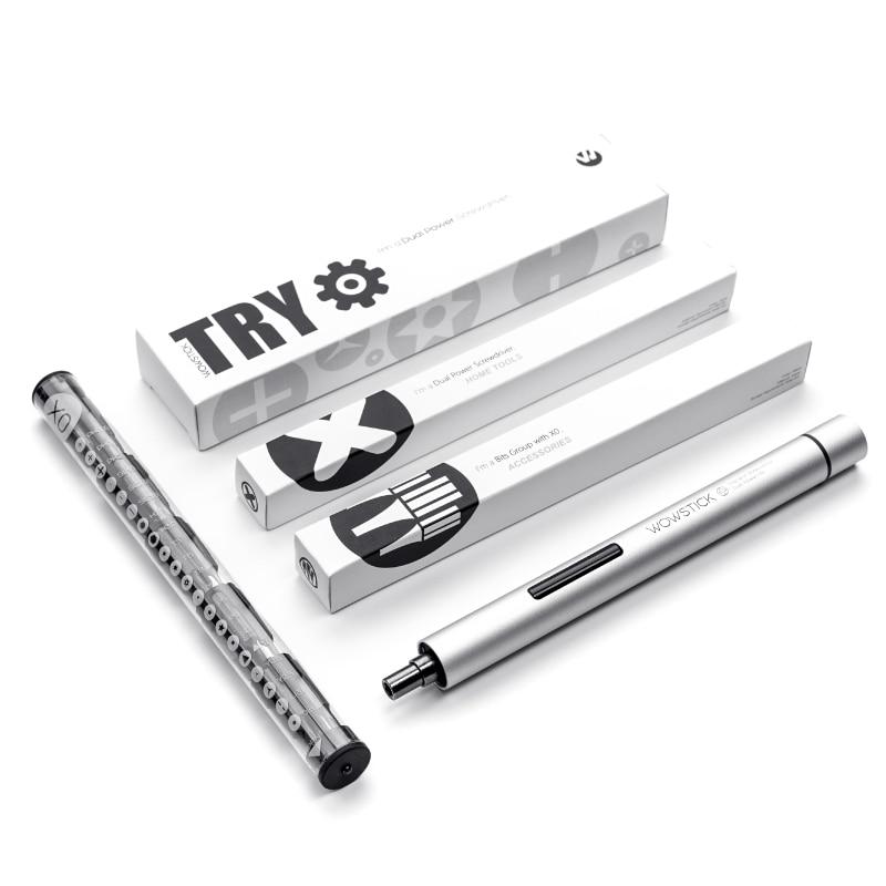 XIAOMI Wowstick 21 In 1 Precision Mini Handheld Cordless Electric Screwdriver Phone Camera Precise Tiny Components Repair Tools