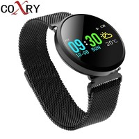 COXRY Fitness Watches Women Men Smart Watch Sport Heart Rate Monitor Pedometer Running Swimming LED Digital Watch Blood Pressure