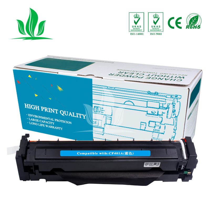 1C CF400A CF401A 402 403A 201A Compatible Color Toner Cartridge For hp HP Color LaserJet Pro M252dn M252n MFP M277dw M277n M274n