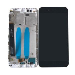 Image 3 - Axisinternational الأصلي ل شاومي Mi A1 MiA1 شاشة LCD عرض لوحة اللمس محول الأرقام مع الإطار ل MI5X Mi 5X العرض