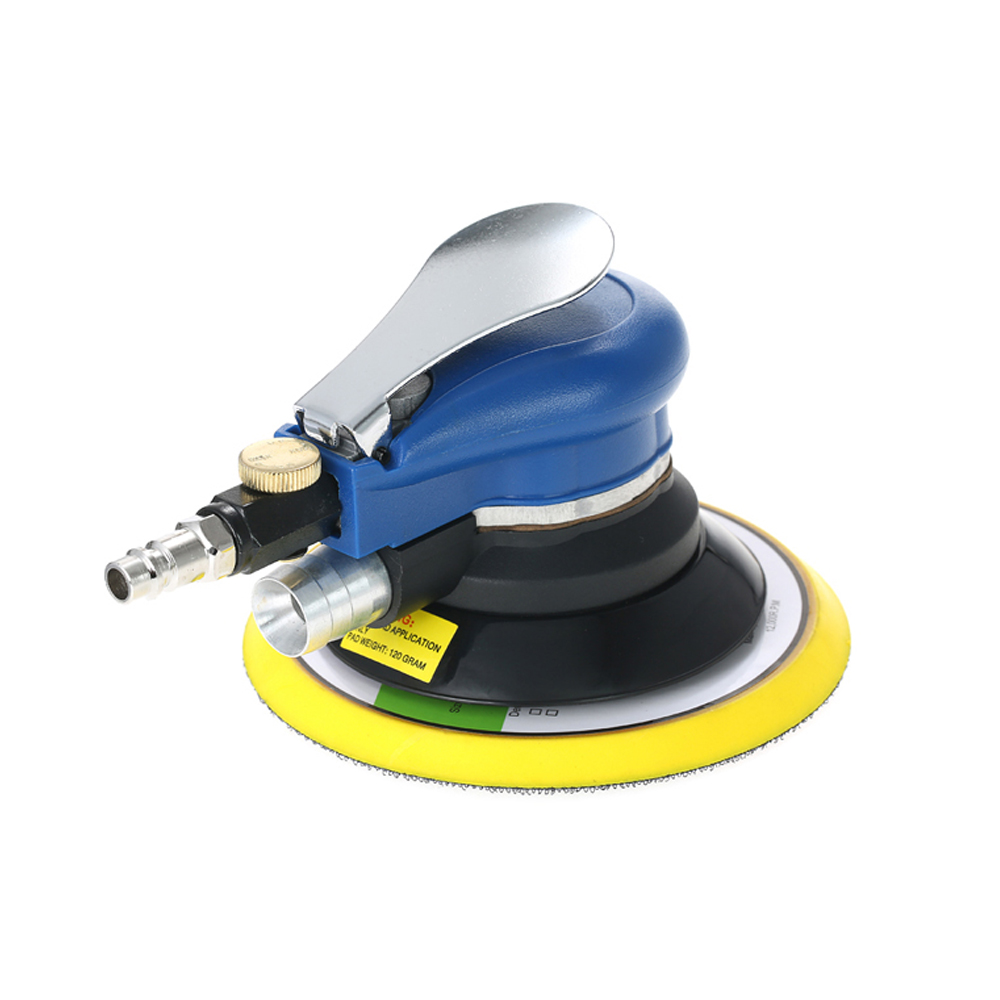 6 Inches 10000RPM Dual Action Pneumatic Air Sander Car Paint Care Tool Polishing Machine Electric Woodworking Grinder Polisher