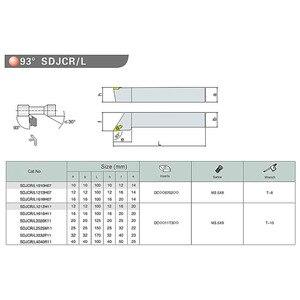 Image 5 - 4 stücke 10mm Schaft Drehmaschine Bohren Bar Drehen Werkzeug Halter S10k SDUCR07/SDJCR1010H07/SDJCL1010H07/SDNCN1010H07