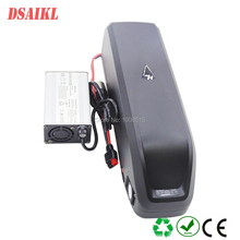 EU US no tax ebike frame battery pack 36V 15Ah with charger for 250W 350W motor kit