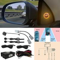 Ultrasonic Radar Blind Spot Detection System BSM Ultrasonic Wave Blind Spot Monitoring Assistant Car Driving Security
