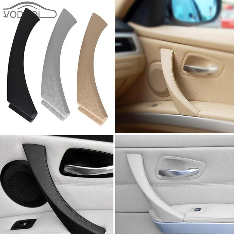 Inner Door Handle Car Right Side Inner Door Panel Handle Pull Trim Cover for BMW E90 E91 3 Series Car Styling Replacement Parts image