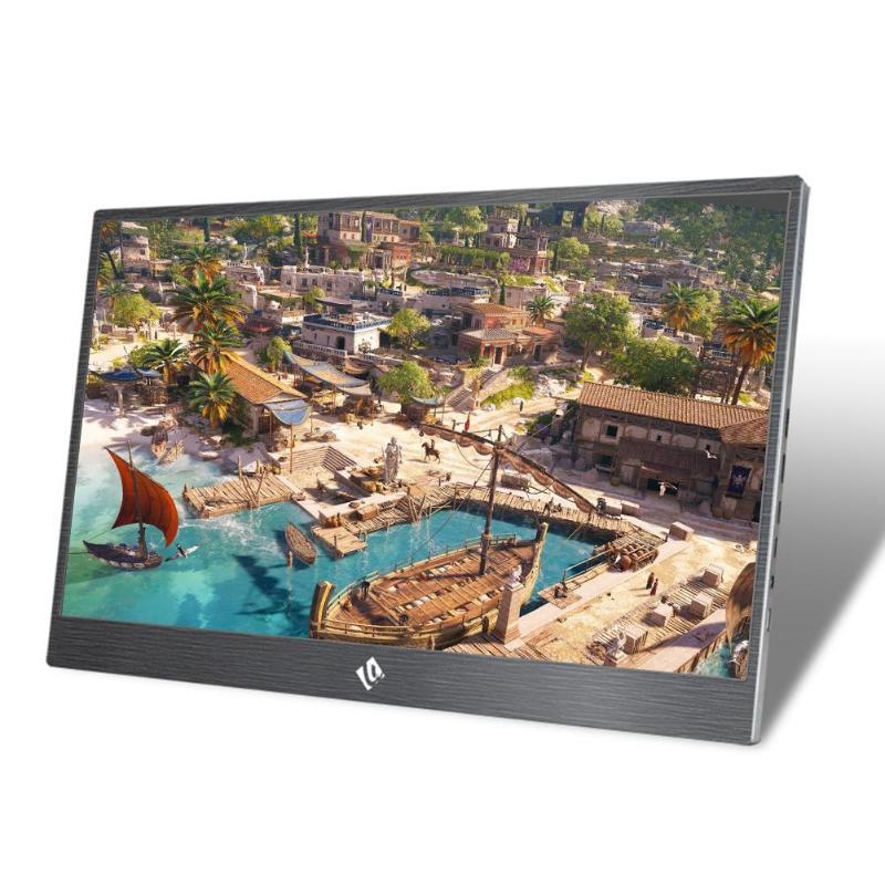 15.6 pouces 144Hz 1080 P HDR moniteur Portable écran de jeu pour PS4 Pro/XboxONE/NS Console de jeu HDMI stéréo 3D surround son