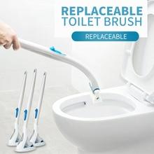 Лидер продаж 2018 товары Одноразовые Туалет для очистки щетки сменные насадки для ванной, унитаза cleaner Инструмент