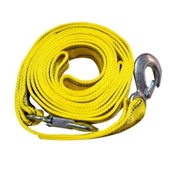 4 m resistente cabo de reboque do carro de 5 toneladas puxar corda cinta ganchos van estrada recuperação
