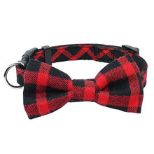 2019 Cloth Pet Dog Bow Tie Collar Adjustable Bow Tie Necktie Collar Lovely Dog Cat Puppy Pet Kitty Accessory~