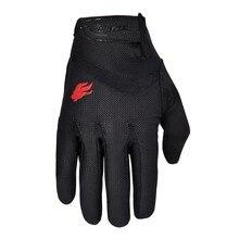 FIRELION guantes de Ciclismo de dedo completo para exteriores, de Gel con pantalla táctil, para bicicleta de montaña, todoterreno, MTB, DH, para descenso, Motocross