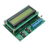 1Pc 4 20mA 10V Voltage Current Signal Generator Signal Transmitter For LCD 1602 Display LCD Modules Black Background Blue Screen