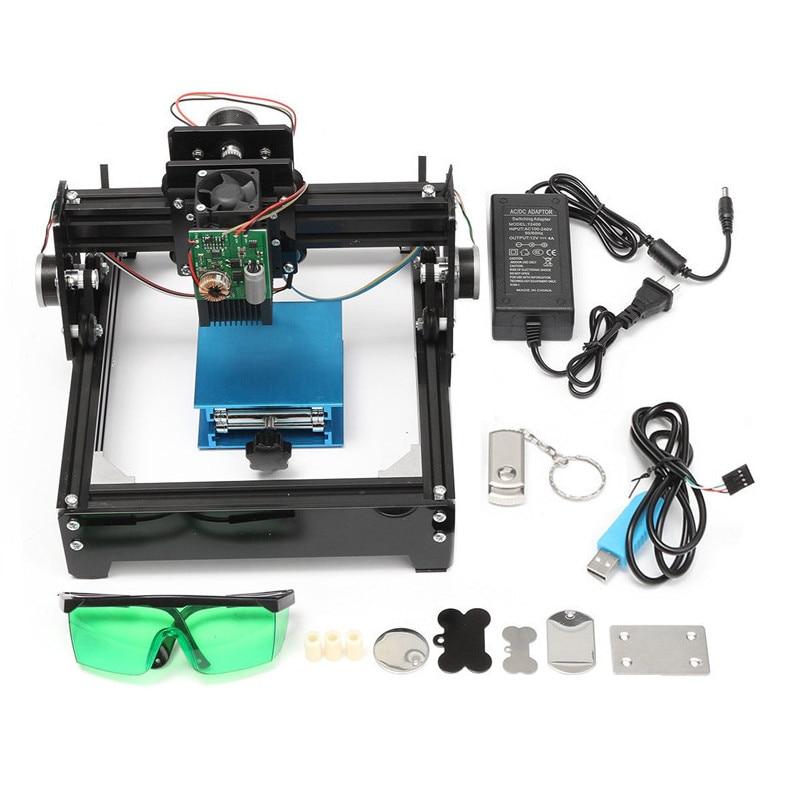 10W Laser Engraving Machine DIY USB Metal Engraver Stone Image Router Printer laser marking machine wood router USB