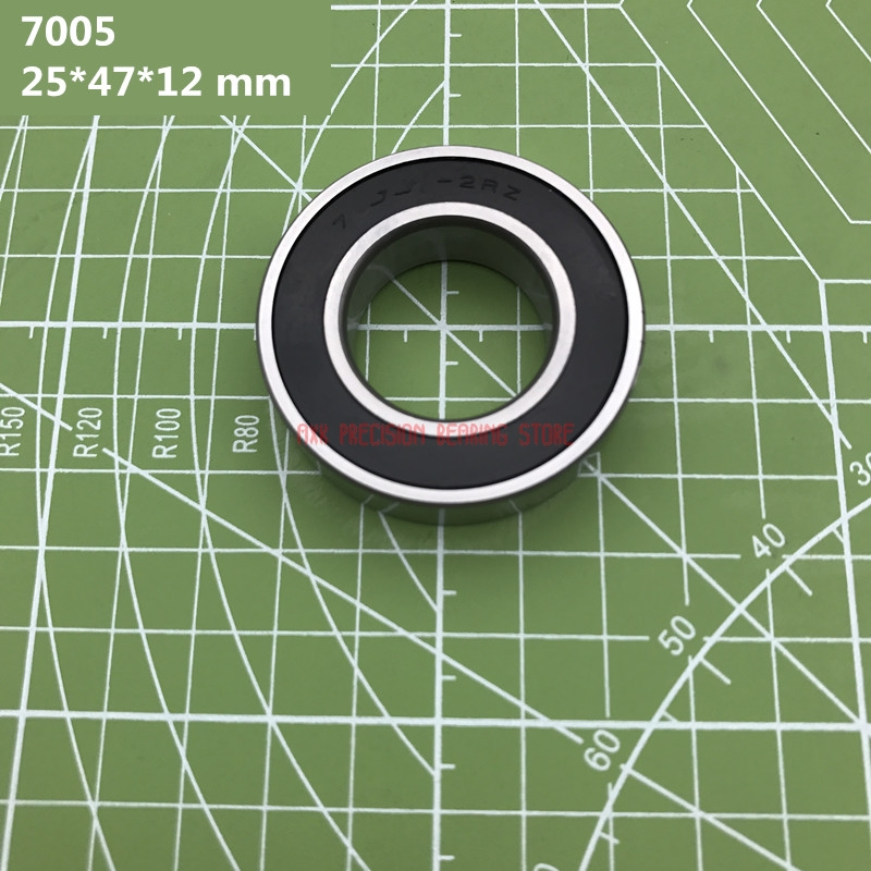 2019 Axk 7005 7005c 2rz Hq1 P4 Dt A 25*47*12 Mm Sealed Angular Contact Bearings Speed Spindle Cnc Abec-7 Si3n4 Ceramic Ball2019 Axk 7005 7005c 2rz Hq1 P4 Dt A 25*47*12 Mm Sealed Angular Contact Bearings Speed Spindle Cnc Abec-7 Si3n4 Ceramic Ball