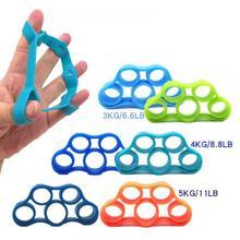 1 шт. силиконовый захват для пальцев, силовой тренажер, браслет сопротивления, рукоятка, запястье, Йога, носилки, запястье, скалолазание, упражнения