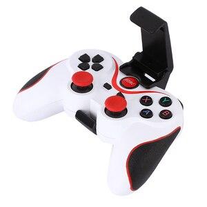 Image 5 - X3 inteligente juego para teléfono controlador GamePad inalámbrico Bluetooth Joystick con titular de soporte del teléfono para smartphones Android Tablet PC