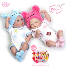 Bebes Reborn Baby Dolls Realistic Soft Silicone Reborn Baby Dolls mini toys Newborn Baby lol Doll Kids' Birthday Xmas Gift 50cm reborn babies dolls toys for children soft cloth body silicone vinyl newborn baby dolls high quality doll toys xmas gift