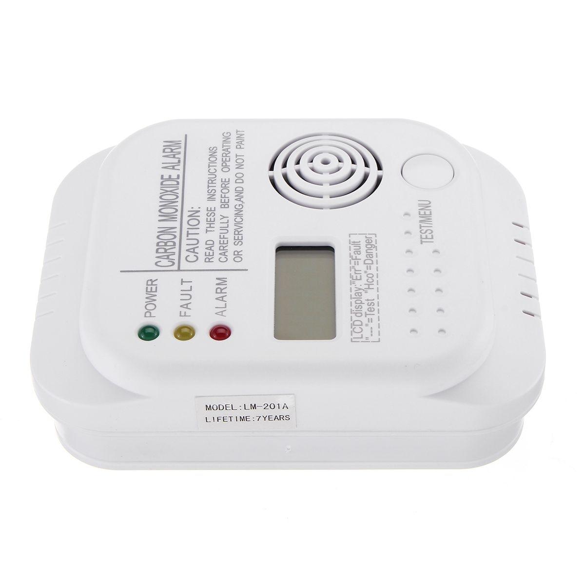 Fire Protection Carbon Monoxide Detectors New Safurance Co Carbon Monoxide Alarm Detector Lcd Digital Home Security Indepedent Sensor Safety
