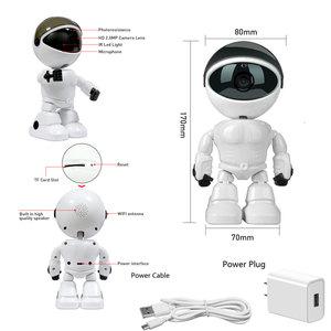 Image 2 - Baby Camera 1080P HD Wireless Smart Baby Monitor WiFi IP ROBOT Camera  Audio Video Record Surveillance Home Security Camera