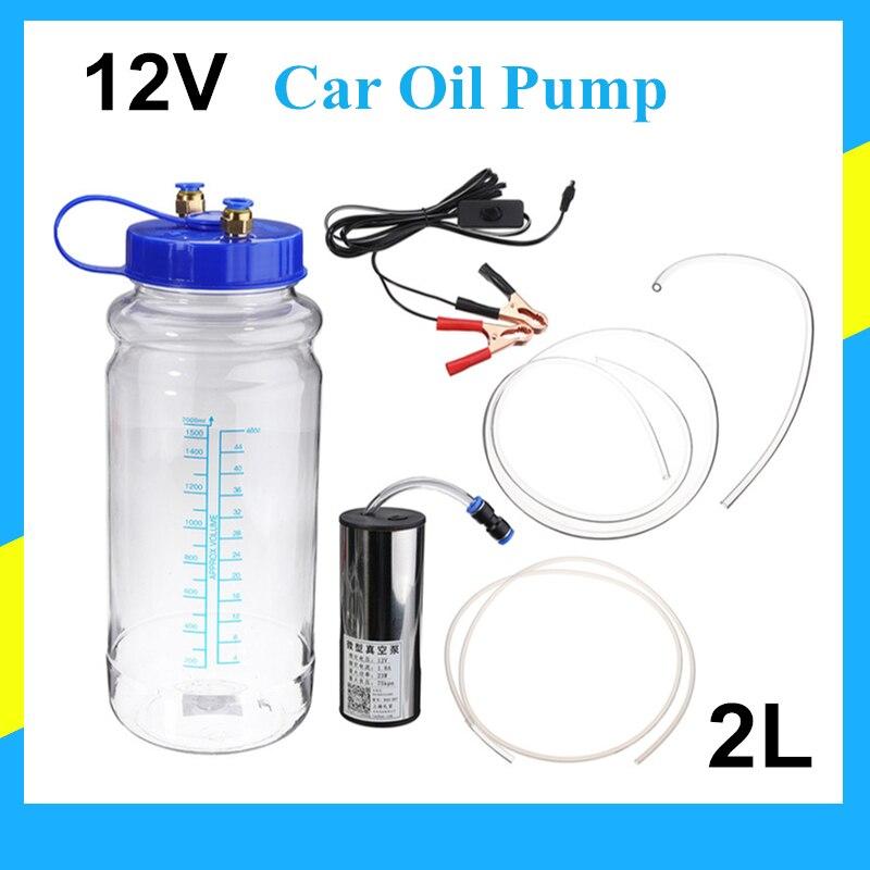 Pompe manuelle huile 12 V pompe d'extraction miel pompe à vide interrupteur pompe à eau fluide d'aspiration transfert sous vide