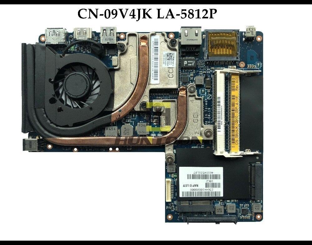 High quality LA 5812P for Dell Alienware M11X R2 Laptop Motherboard CN 09V4JK LA 5812P I3