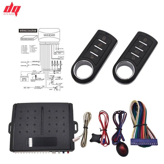 13P General Car Auto Alarm Door Lock Locking System Keyless Central