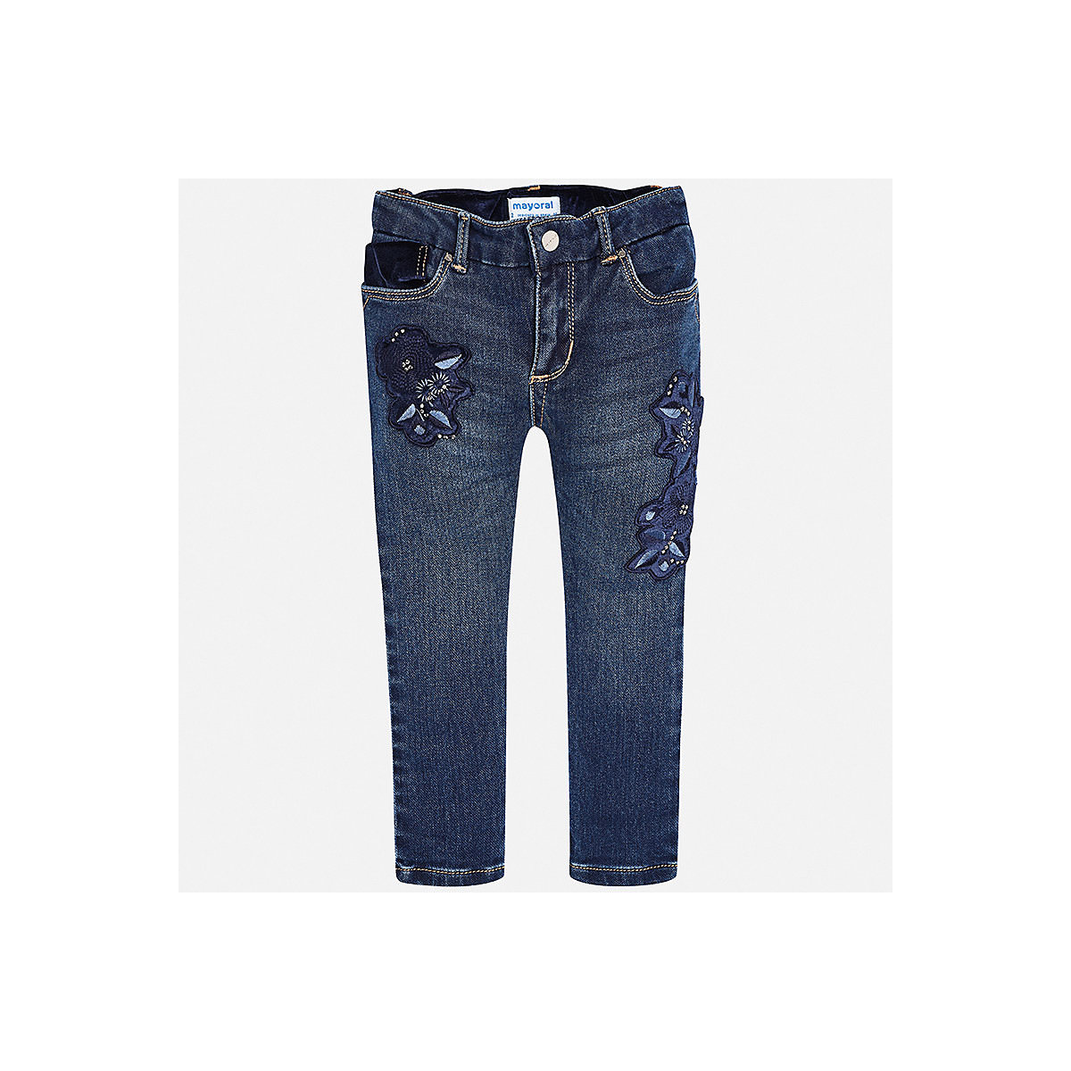 Фото - MAYORAL Jeans 8849822 Girls clothes baby boy children child wear girls destroyed jeans