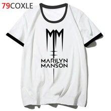 fdf87a78efad1 Marilyn manson t camisa camiseta divertida para hop hombre 2019 ropa  streetwear camiseta harajuku cadera hombres camiseta de la .