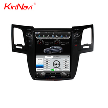 KiriNavi Android 6.0 For Toyota Fortuner Hilux 12.1'' Touch Screen Car DVD Radio Audio GPS Navigation Monitor 2012-2015