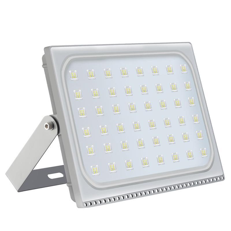GERUITE 1PCS Ultra Thin LED Floodlight 300W IP65 Waterproof Led Flood Lights Outdoor Lighting 220-240V Reflector LED Spotlight