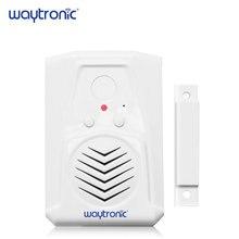 Sonido descargable Sensor de puerta magnético alarma de entrada puerta ventana de bienvenida de puerta abierta alerta de seguridad recordatorio de voz