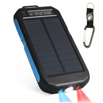 10000 mAh Sport Solar Charger Power Bank 3