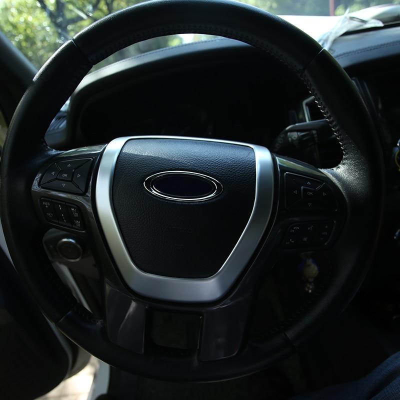 Fiesta MK7 Lot de 16 couvercles de garniture en acier inoxydable chrom/é