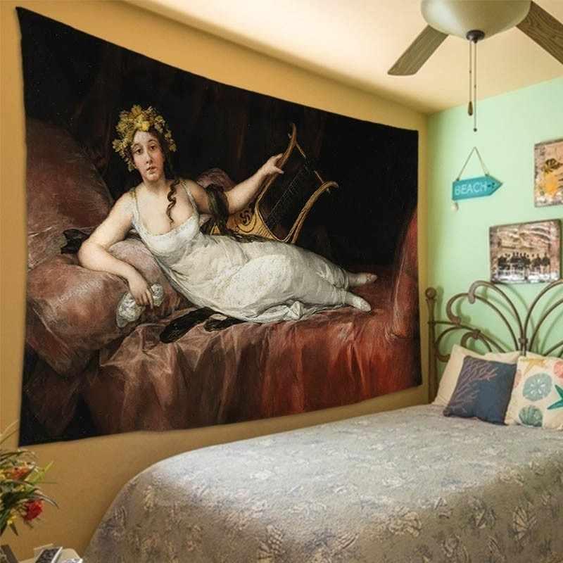 Vittorio reggianini arte europeia royal tribunal tapeçaria tapeçaria parede pendurado sala de estar decoração do quarto casa decorativa tapete
