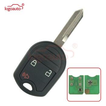 Kigoauto CWTWB1U793 4D63 80 POUCO 1788A-FWB1U793 3 botão 434 Mhz Remoto chave para Ford Fiesta 2015 2016 2017