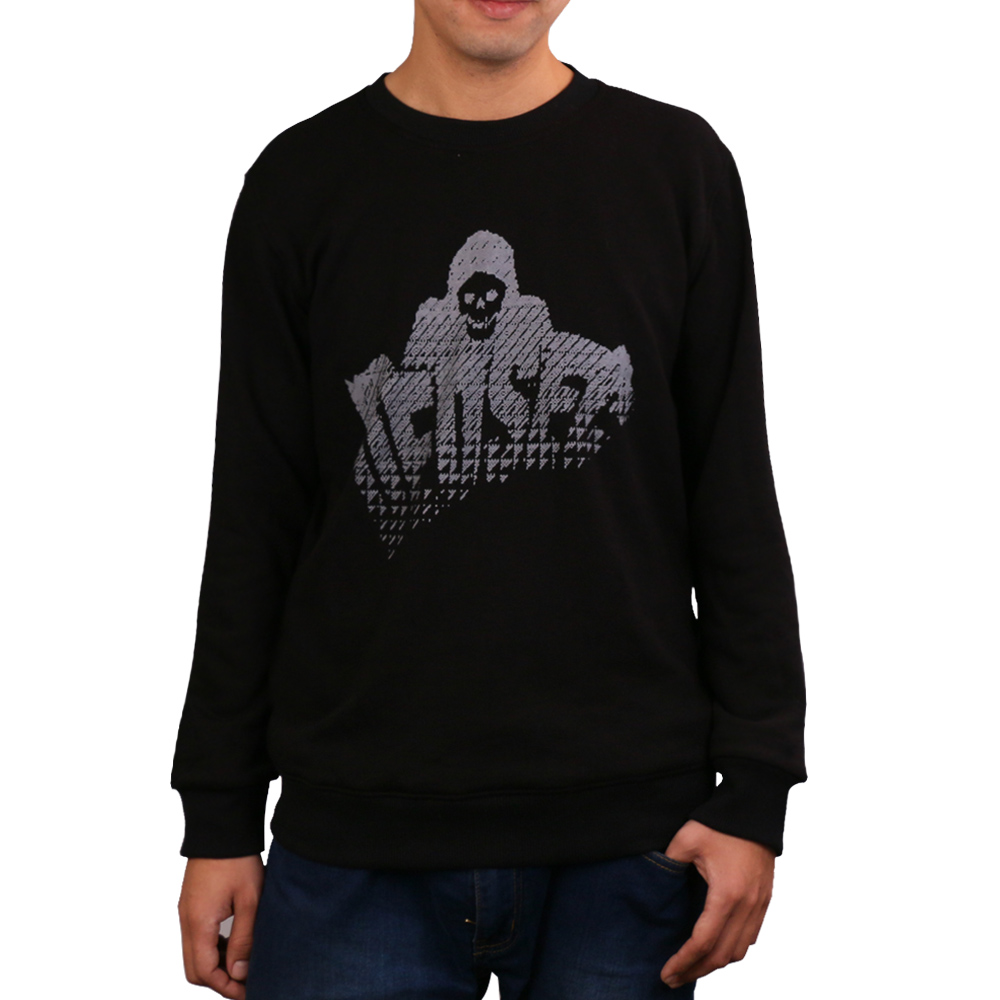 Game Watch Dogs 2 Marcus Holloway Long Sleeve Hoodies Men's Cosplay 100% Cotton Black Sweatshirts Halloween Christmas Gift