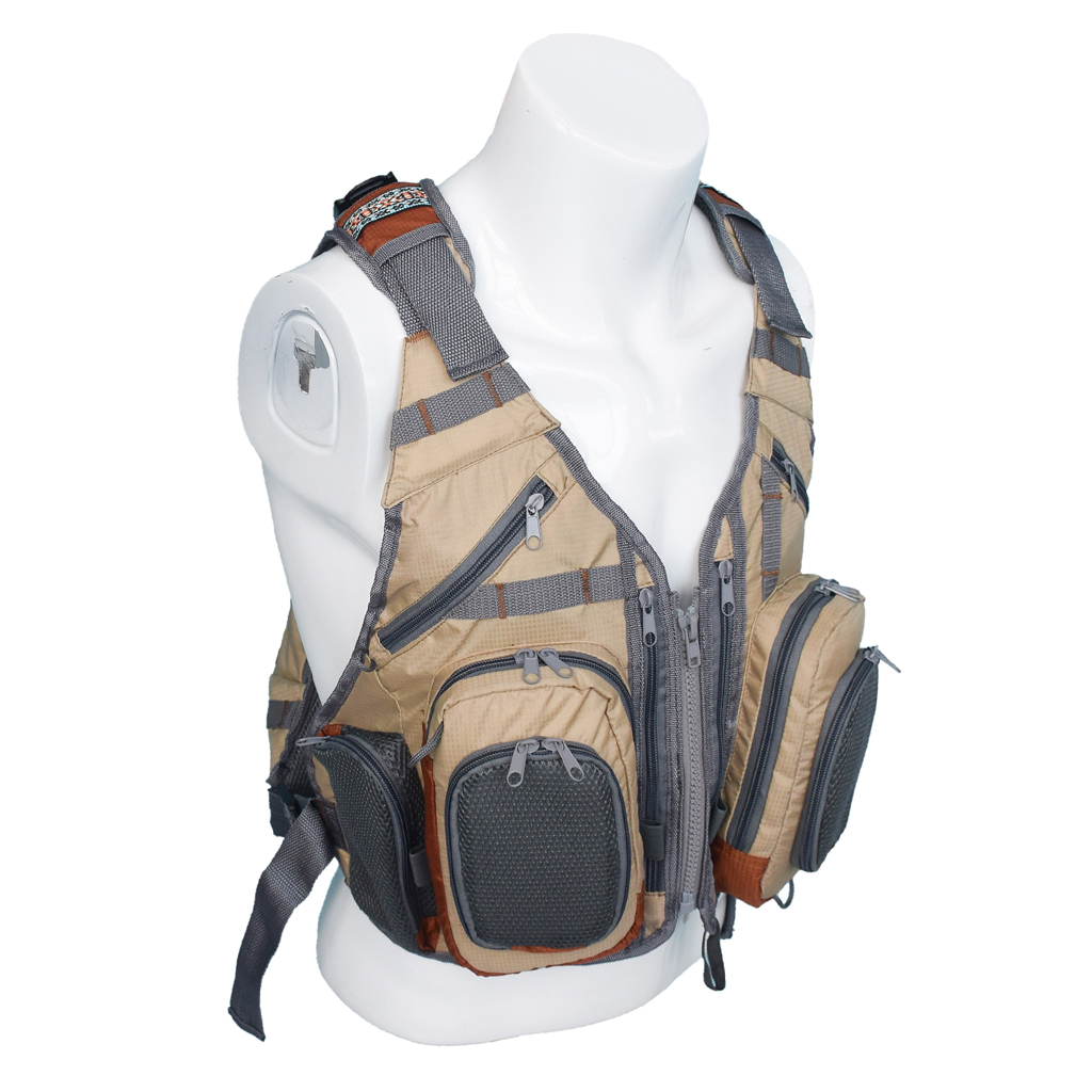 Fly Fishing Backpack Vest Combo Fishing Tackle Mesh Vest Multifunctional Bag Free Size for Outdoor Sports-in Fishing Vests from Sports & Entertainment    2
