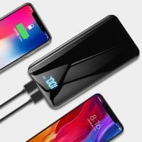 Fashion Portable Dual USB Output Digital Display Fast Charge Power Bank