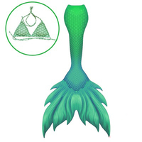Top Quality Swimable Mermaid Tails for Women Girls Audlts In Halloween Mermaid Cosplay Photo Prop