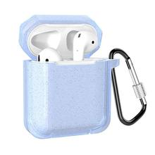 Silicone Bluetooth Wireless Earphone Case For AirPods Protective Cover Skin Accessory for Airpods Charging Box wholesale
