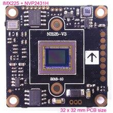 مستشعر صورة Exmor IMX225 CMOS مقاس 32x32 مللي متر AHD M (720 P)/CVBS 1/3 بوصة + كاميرا NVP2431 CCTV وحدة لوحة PCB UTC (أجزاء اختيارية)