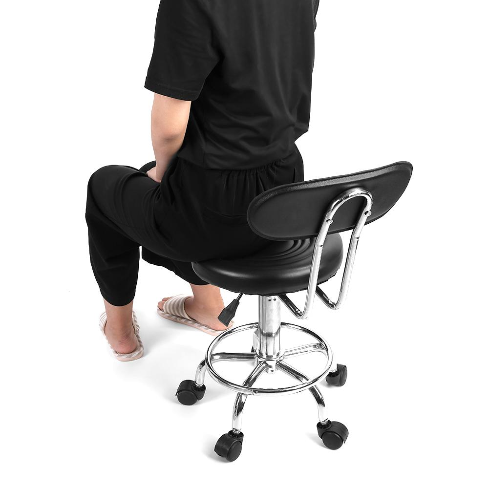 Image 3 - Adjustable Salon Hairdressing Styling Chair Barber Massage Studio Tool-in Barber Chairs from Furniture