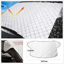 Абсолютно ветровой экран, магнитный экран для окна автомобиля, мороз, лед, большая защита от снега, защита от пыли