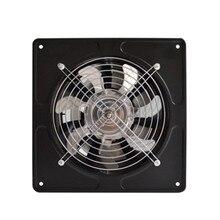 40 Вт 220 В вытяжной вентилятор 6 дюймов вытяжной вентилятор Настенный низкий уровень шума для дома, ванной комнаты, кухни, вентиляционная вытяжка