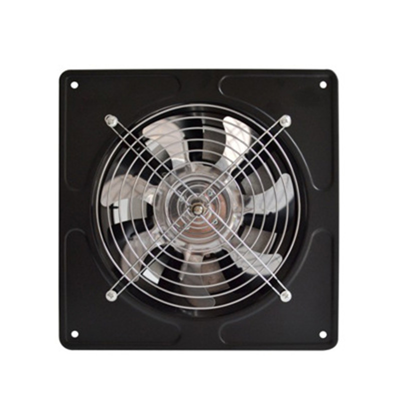 40W 220V Exhaust Fan 6 Inch Exhauster Wall Mounted Low Noise Home Bathroom Kitchen Air Vent Ventilation Extractor