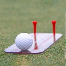 新しいゴルフ練習ミラースイング練習ミラースイングトレーナーゴルフスポーツ頑丈で耐久性のあるゴルフ練習ミラーポータブル