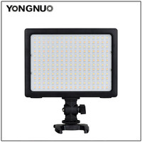 YONGNUO YN204 YN 204 PRO SMD LED Camera Video Light Adjustable 3200k 5500k Color TemperatureOn for DSLR Canon Nikon Pentax