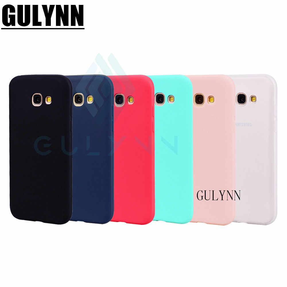 Ultra-thin Candy Color Case for Samsung Galaxy S8 S9 Note 9 A3 A5 A7 A6 J3 J4 J6 J7 2017 2018 Plus Silicon TPU Soft Phone Cases