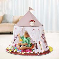 Children's Simple Build Bottomless Tent Indoor Baby Family Independent Play House Indian Yurt Tent Baby Play House