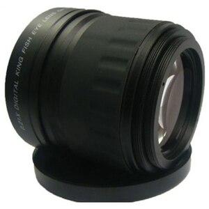 Image 4 - 58mm 0.21X Fisheye Weitwinkel Makro Objektiv Für Canon Nikon Alle Dslr Kamera